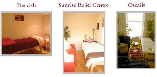 Reiki rooms