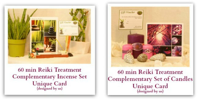 Reiki vouchers and gifts