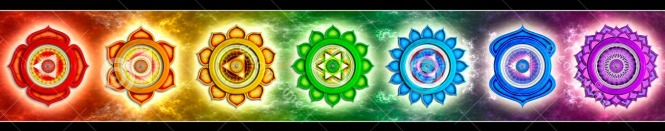 a mandala of the 7 chakras