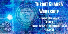 Throat chakra learning in Dublin