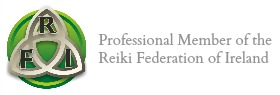 professional member of the Reiki Federation of Ireland RFI
