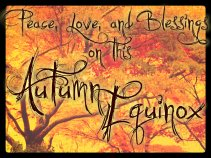 Happy Autumn Equinox